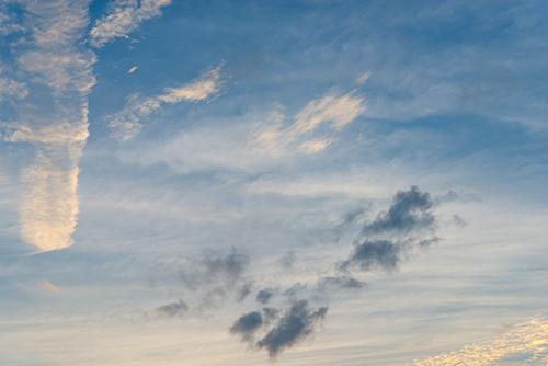 夕方の空模様 37の高画質画像