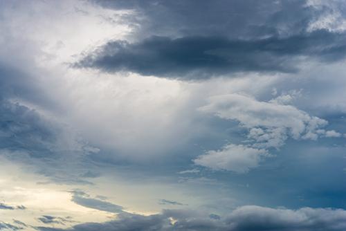 夕方の空模様 43の高画質画像