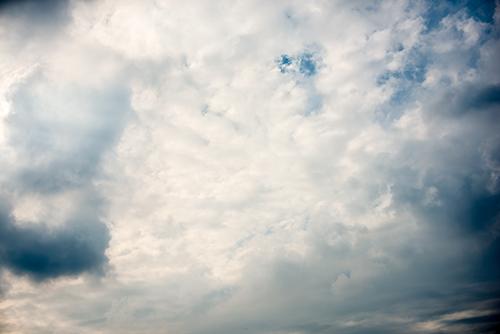 夕方の空模様 55の高画質画像