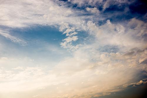 夕方の空模様 57の高画質画像