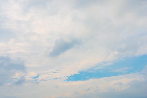 夕方の空模様 65の高画質画像