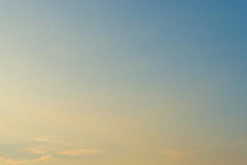 夕方の空模様 68の高画質画像