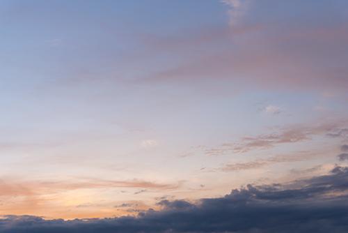 夕方の空模様 78の高画質画像