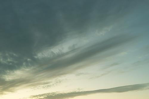 夕方の空模様 85の高画質画像