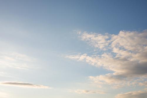 夕方の空模様 105の高画質画像