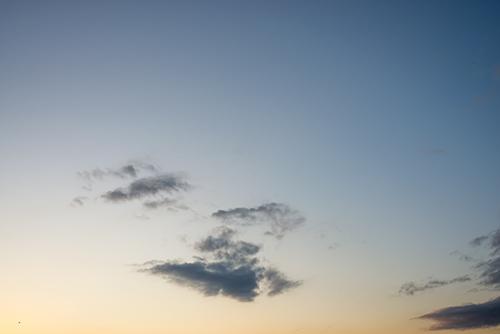 夕方の空模様 107の高画質画像