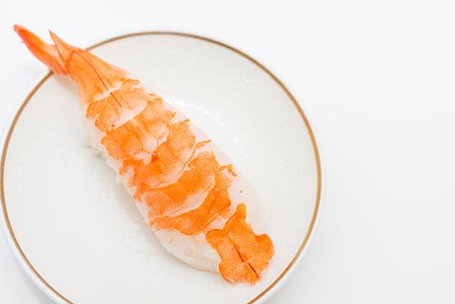 海老のお寿司の高画質画像