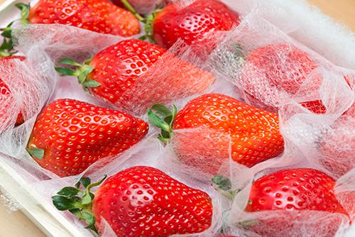 高級なイチゴの高画質画像