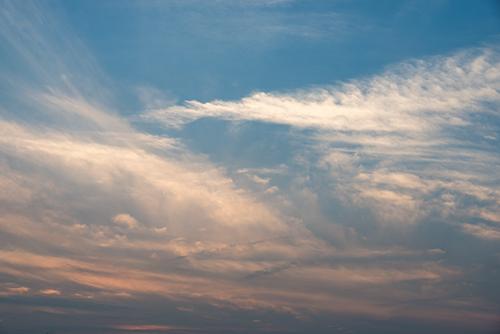 夕暮れの空 14の高画質画像