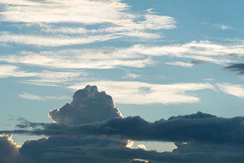 夕暮れの空 23の高画質画像