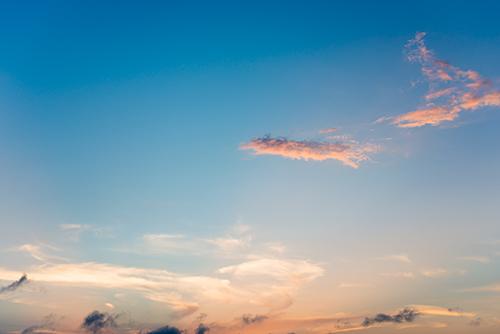 夕暮れの空 29の高画質画像