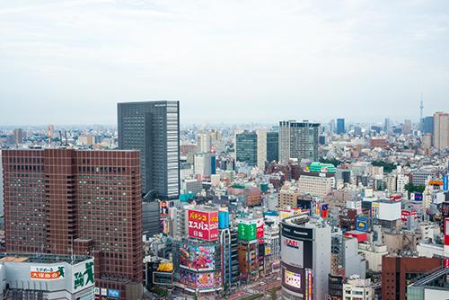 新宿のビル群 7の高画質画像