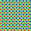 ベイヤー配列のカラーフィルター